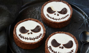 Tarte chocolat à la panna cotta coco