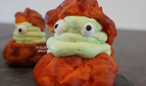 Choux chantilly d'halloween