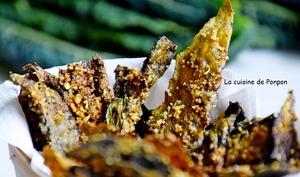 Chips de chou kale aux épices indiennes