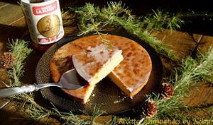 Gâteau aux amandes et au rhum