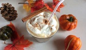 Chai latte épicé à la courge butternut