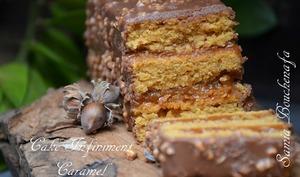 Cake au caramel au beurre salé