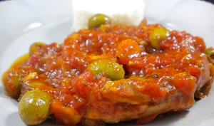 Osso bucco de veau aux olives