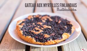 Gateau aux myrtilles finlandais