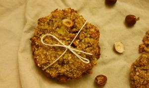 Cookies banane noisettes