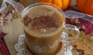 Pumpkin spice latte au lucuma