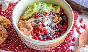 Porridge au quinoa cardamome