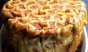 Gâteau de cannellonis