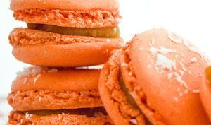 Macarons mangues coco