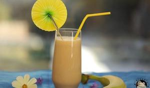 Milkshake banane Bailey's