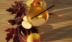 Cocktail pomme-châtaigne-whisky