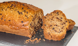 Gâteau du matin noisettes, chocolat