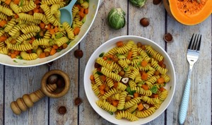 Salade de pâtes d'automne