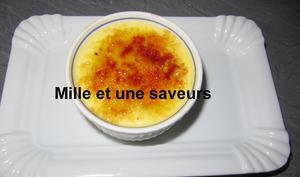 Crème onctueuse à la vanille