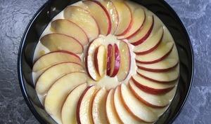 Moelleux aux pommes à la frangipane