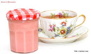 Pâte à tartiner aux biscuits roses de Reims