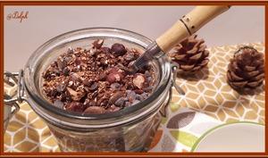 Granola d'Automne à la crème de marron