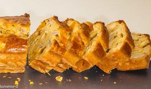 Cake au potimarron, châtaignes et comté