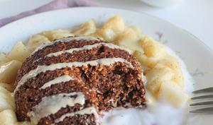Bowlcake poire chocolat
