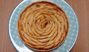 Tarte à la compote de pommes