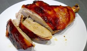 Jambon de cochon de lait laqué