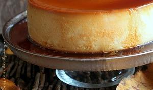 Crème caramel aux oeufs