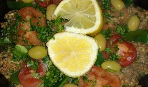 Tajine marocaine de poissons