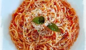 Spaghetti all' arrabbiata