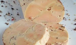 Le foie gras confit aux épices