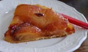 Tarte Tatin à la gelée de pommes