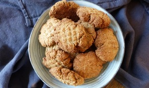 Biscuits aux graines de chia blanches