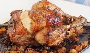 Poulet rôti à la broche du dimanche