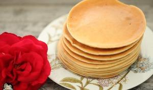 Pancakes de poire râpée