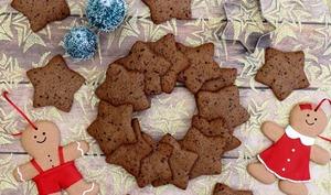 Biscuits de Noël au chocolat et à la cannelle
