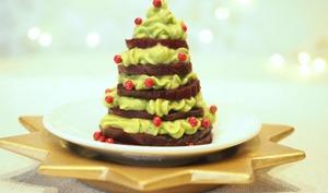 Sapin de Noël aux légumes