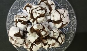 Crinkles ou craquelés au chocolat