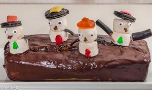 Cake bonhomme de neige