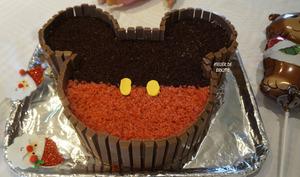 Mickey s'invite au goûter