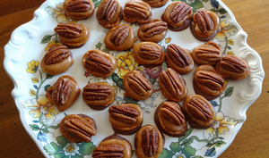 Bretzels tortue chocolat caramel