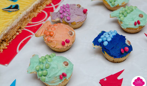 Cupcakes poissons