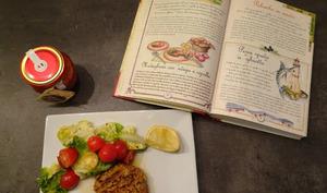 Burger à la 'nduja et oignon