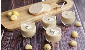 Cappuccino de foie gras et marrons