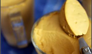 Mousse glacée de mascarpone au café