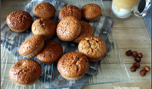 Financiers noisettes et chataignes