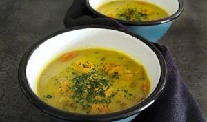 Soupe au poulet mulligatawny