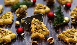 Biscuits salés au fromage et pistaches