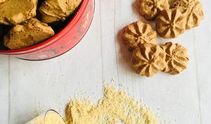 Bredeles: macarons au praliné