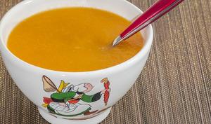 Soupe de carottes et radis noirs