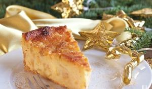 Gâteau de polenta aux pommes