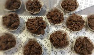 Roses des sables de mamie au chocolat